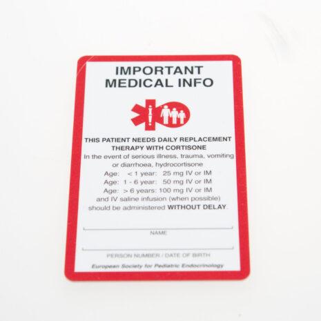 SOS kaarten voor kinderen