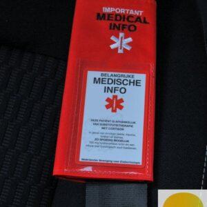 Safetybelt houder groot voor veiligheidsgordel auto