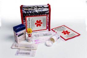 SOS – noodtasje om medicijnen mee te nemen