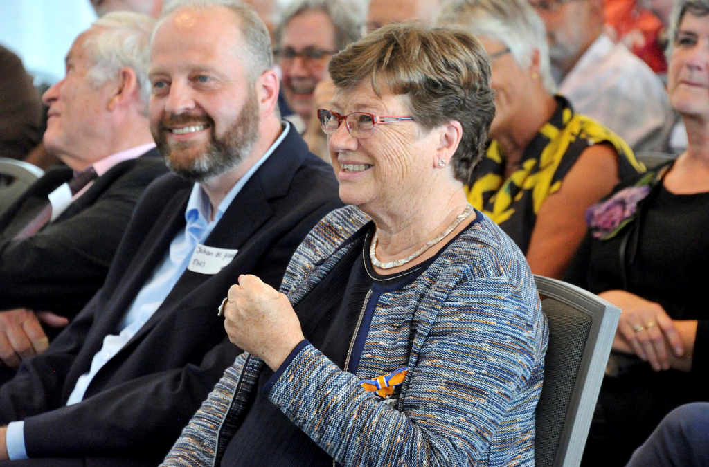 Alida Noordzij benoemd tot Ridder in de orde van Oranje Nassau