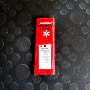 SOS houder voor tas, rugzak of maxicosi