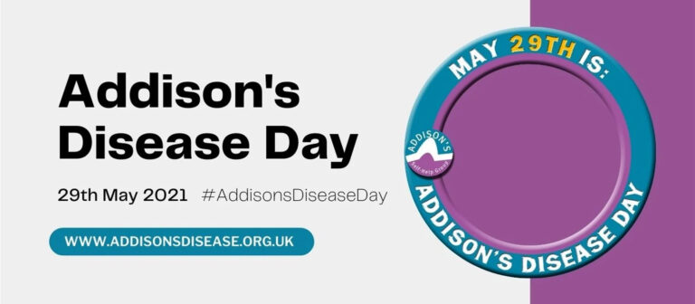 29 mei is: Addison's disease awareness day
