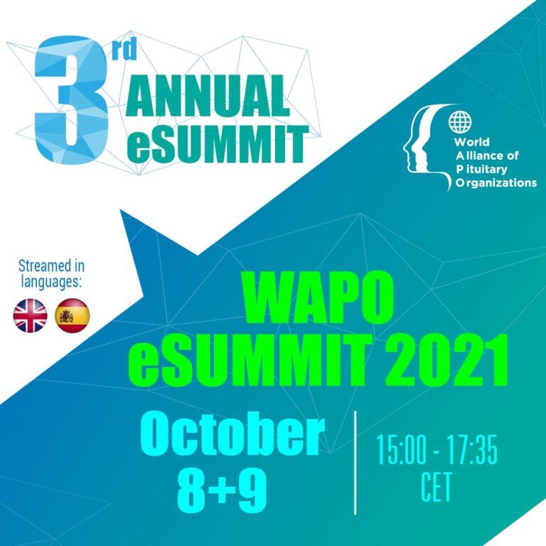 3e WAPO eSUMMIT op 8+9 oktober